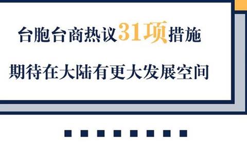 【關注31條】臺胞臺商熱議31項措施 期待在大陸有更大發展空間