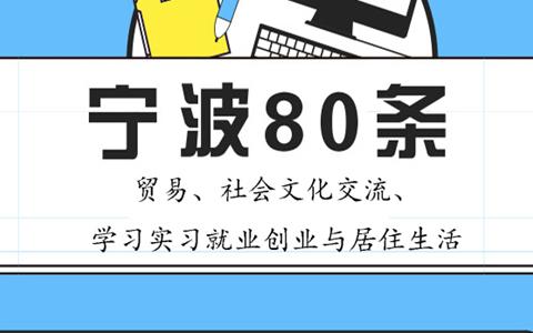 【圖侃産經】一圖看懂寧波80條(二)