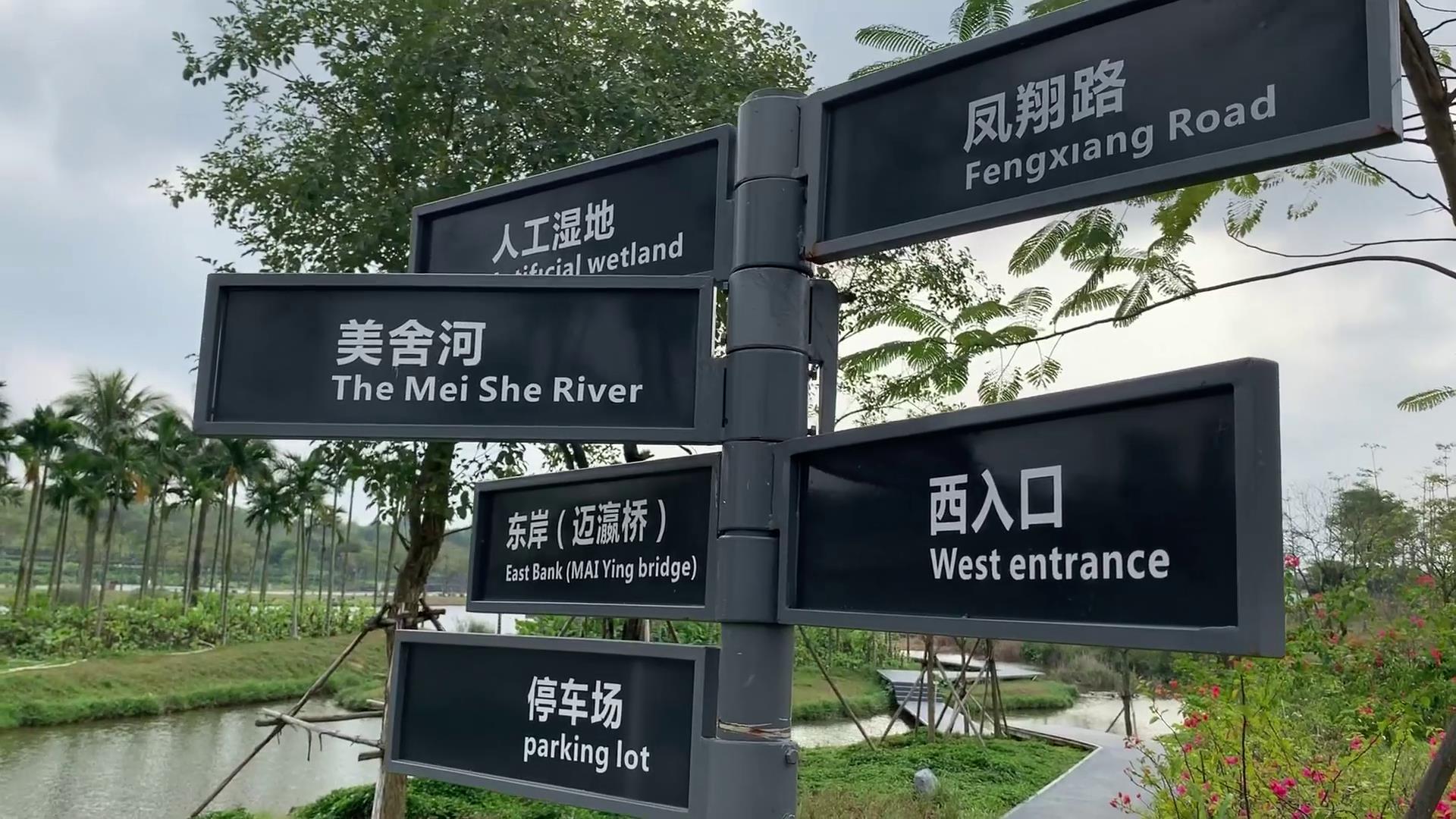 海口美舍河鳳翔濕地公園 打造生態新名片圖片