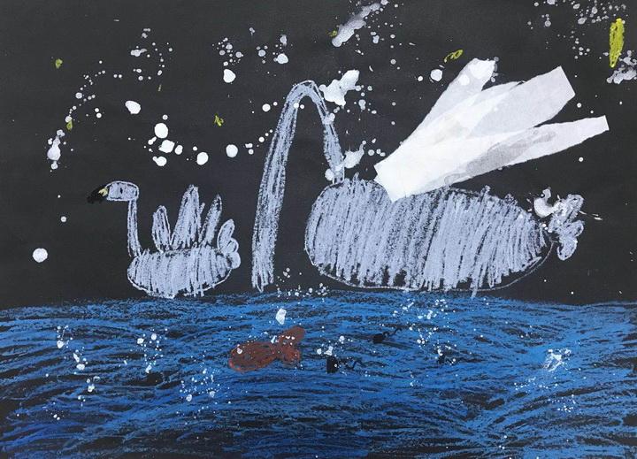 尹安江《優雅的白天鵝》-5歲-廣東.jpg