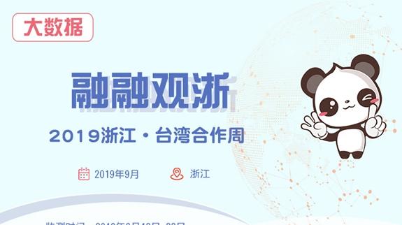 【融融大數據】2019浙江·臺灣合作周