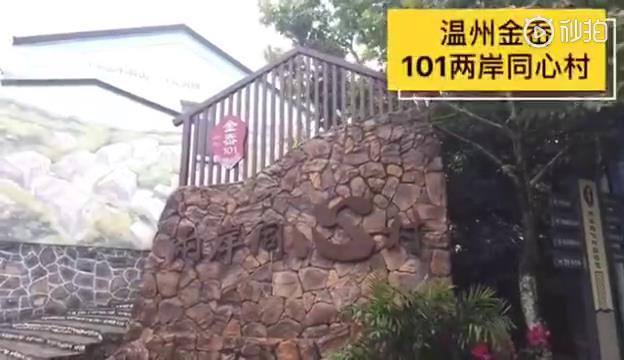 臺青西進溫州小漁村圖片