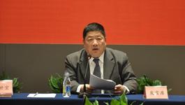 王屏生在全國臺協會長座談會上發言