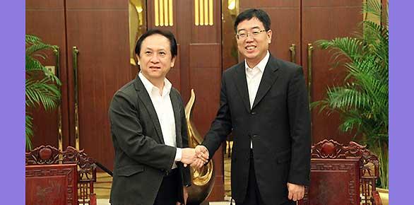 國家旅遊局副局長杜江會見臺灣客人