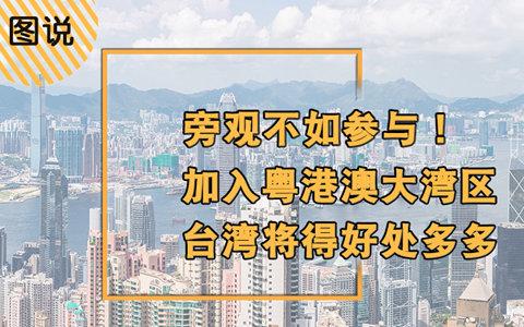 旁觀不如參與!加入粵港澳大灣區,臺灣將得好處多多