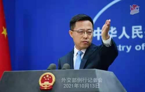 外交部發言人趙立堅 薛偉 攝