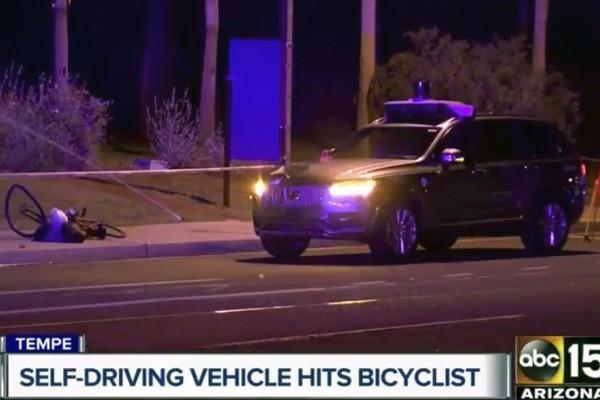 Uber涉無人車史上首例死亡車禍 道路實測計劃全面暫停