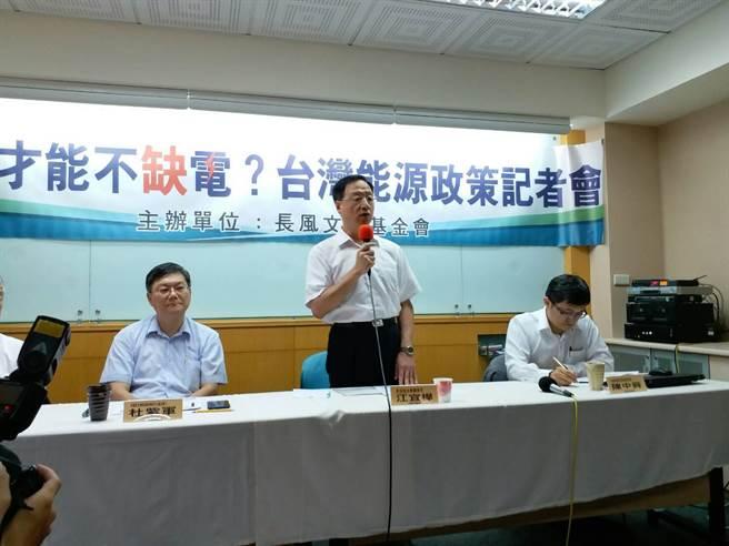 江宜樺:蔡英文當局能源政策不切實際 2025應保留15%核能