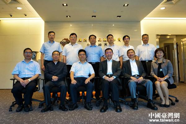 機電商會臺北辦事處主任李榮民會見寧波市參訪團一行
