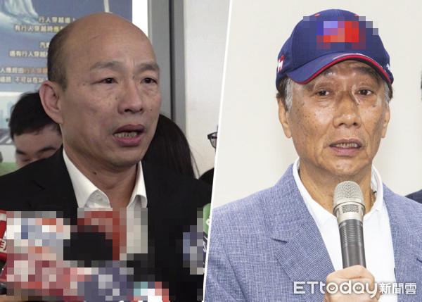 連勝文:希望郭臺銘和韓國瑜兩人能合作