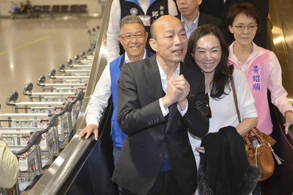 韓國瑜:我願負起責任,不計個人得失,只願能夠改變臺灣