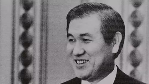 資料圖片:南韓前總統盧泰愚。