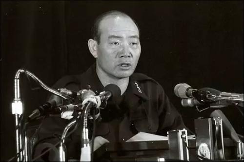資料圖片:南韓前總統全鬥煥。