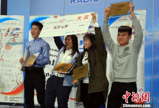 尋百工振興創意工場項目獲得大賽冠軍。 潘索菲 攝