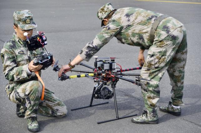 China air force uses drone for first time in Xinjiang quake