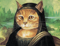 Cats take over most famous western artworks