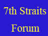The 7th Straits Forum