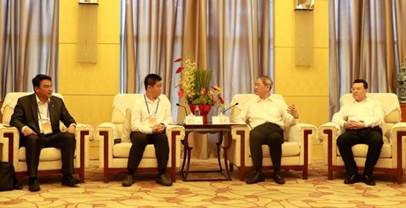 張志軍會見參加第三屆海峽兩岸青年東湖論壇臺灣青年代表
