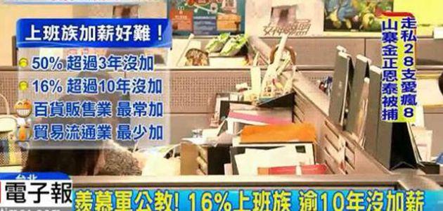調查顯示:臺灣93%企業不願幫員工加薪