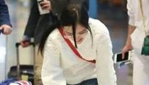 李小璐機場平地摔 每個女生都有愛美的權利