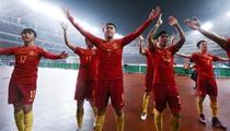 世預賽:中國隊1-0戰勝南韓隊