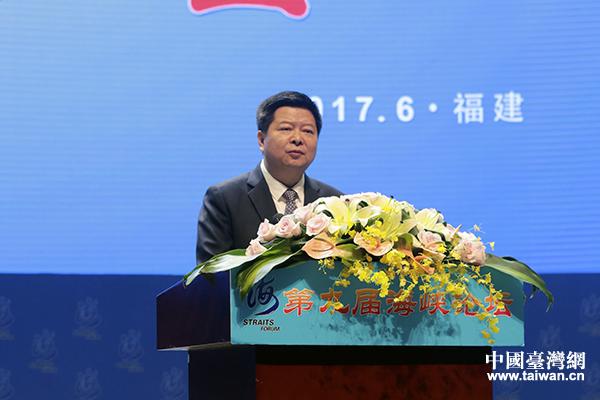 龍明彪主持海峽論壇大會:兩岸關係的根基在基層