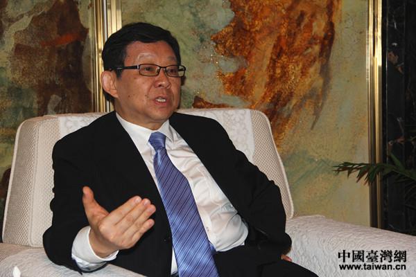 陳德銘:新媒體在兩岸環保産業合作中要起橋梁作用