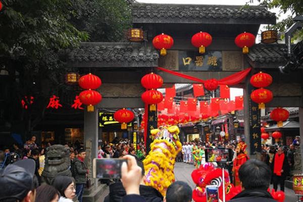重慶磁器口古鎮文化迎新春 體驗傳統文化魅力.jpg