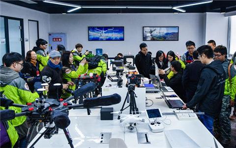 臺灣大學生航拍體驗活動首戰告捷