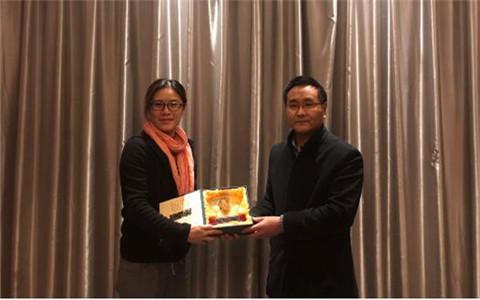臺灣義守大學教師來安陽工學院參訪 促進兩校交流合作