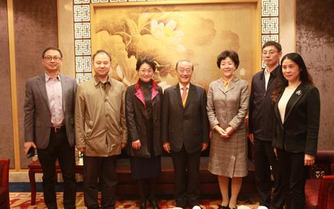 中華兒女知性之旅參訪團來渝參訪