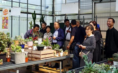 四川臺聯農業文化參訪團赴臺交流訪問