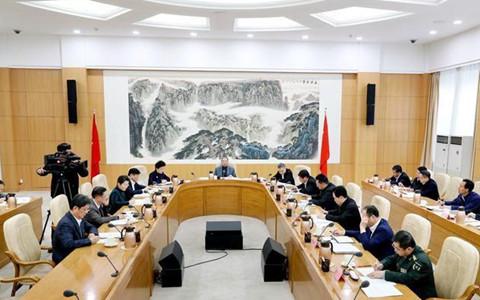 山東省委對臺工作領導小組召開第一次全體會議