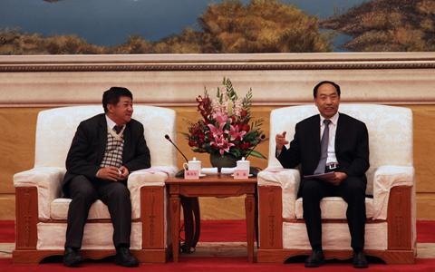 雲南省人大常委會副主任李培會見國民黨中常委陳雙全一行