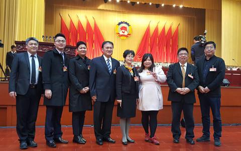 臺商臺胞參加廣西政協會議:廣西是臺灣青年聚集地
