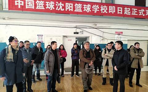 臺東大學附屬高級體育中學到瀋陽市體育運動學校參訪交流