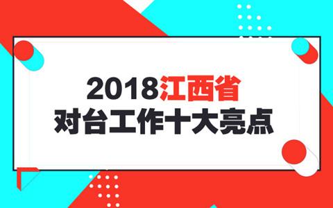 2018年江西省對臺工作十大亮點