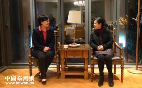 武漢市副市長徐洪蘭會見電電公會大陸首席代表顏素秋一行