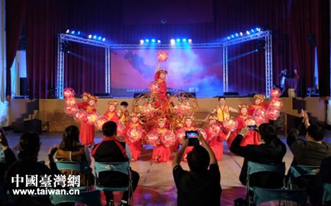 兩岸和樂慶元宵 杭州元素亮南投