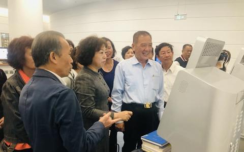 臺灣新竹市前市長許明財一行到天津參訪考察