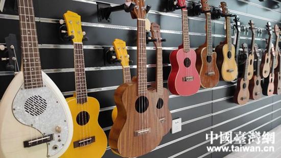 漢中臺企哈瓦娜樂器文化有限公司生産的樂器。  (台灣網 發).jpg