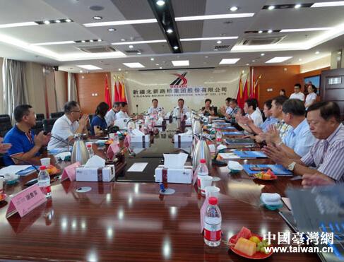 臺中縣不動産開發商業同業公會開啟新疆之旅