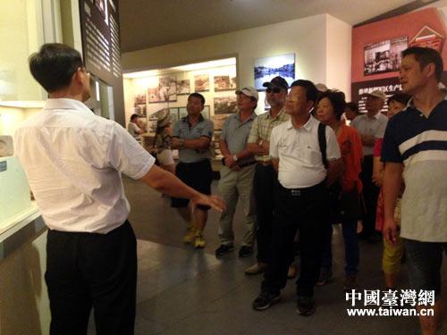 臺中交流團參訪軍墾博物館 感受激情燃燒歲月
