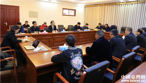 寧夏彭陽縣舉辦臺灣青年商會代表團座談會