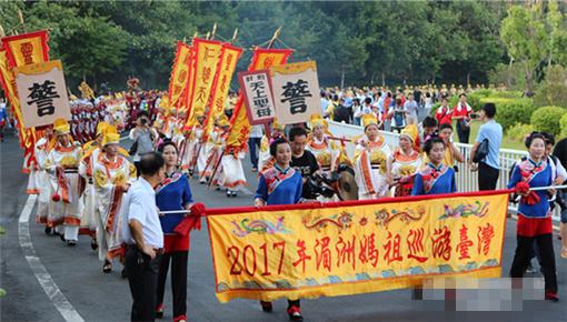 湄洲媽祖金身20年後再巡遊臺灣 接駕信眾逾千