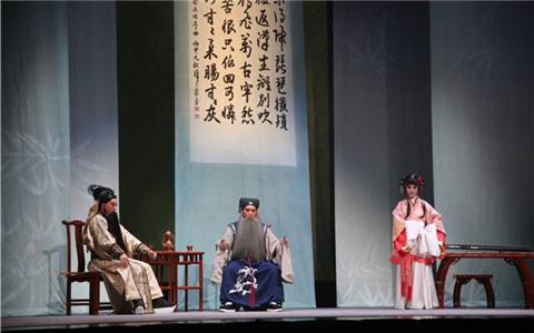 臺灣新編崑曲《蔡文姬》在河南交流演出