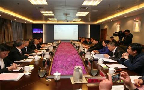 全國臺企聯常務副會長林易陞一行到河南焦作考察