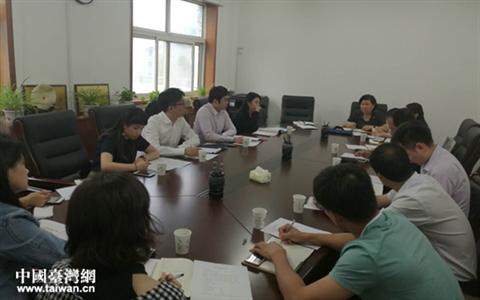 臺灣青年考察鄭州實習就業基地