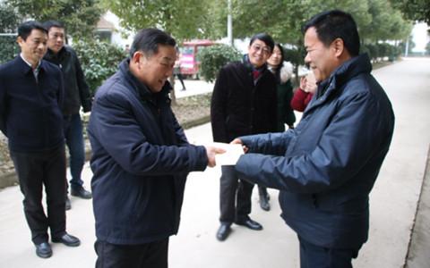 武漢市黃陂區領導走訪調研臺企、看望慰問臺胞臺屬