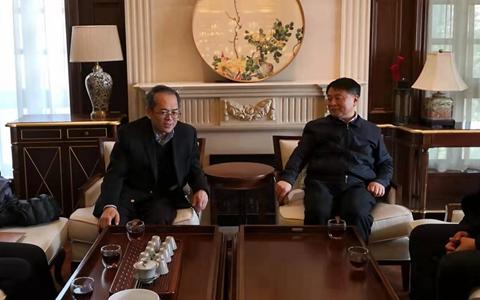 曹裕江常委會見斯米克集團董事長李慈雄一行
